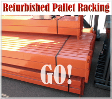 Refurbished Pallet Racking
