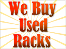 we buy used pallet racks